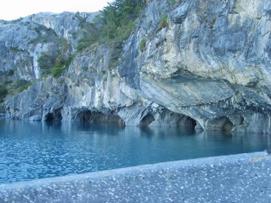 Las Cuevas de Marmol Chile