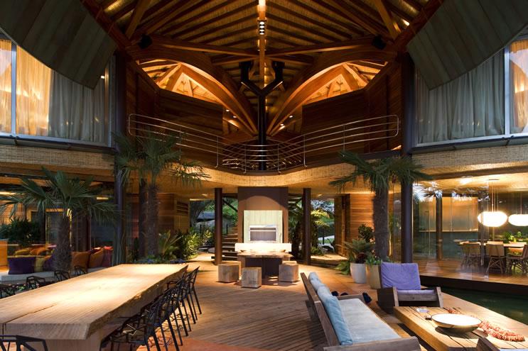 Leaf House interior