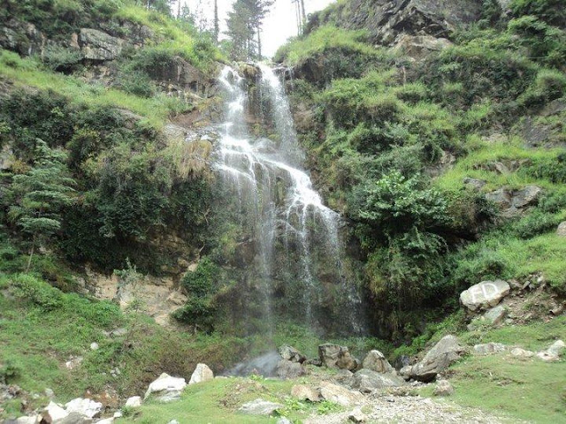 swat valley waterfall