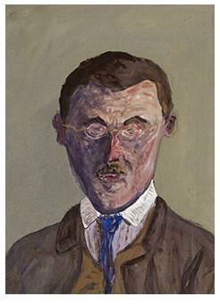 Hermann Hesse self portrait