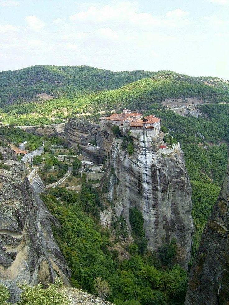 Meteora Greece stone forest