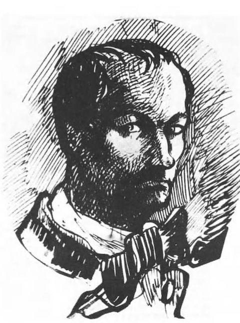 charles Baudelaire self portrait