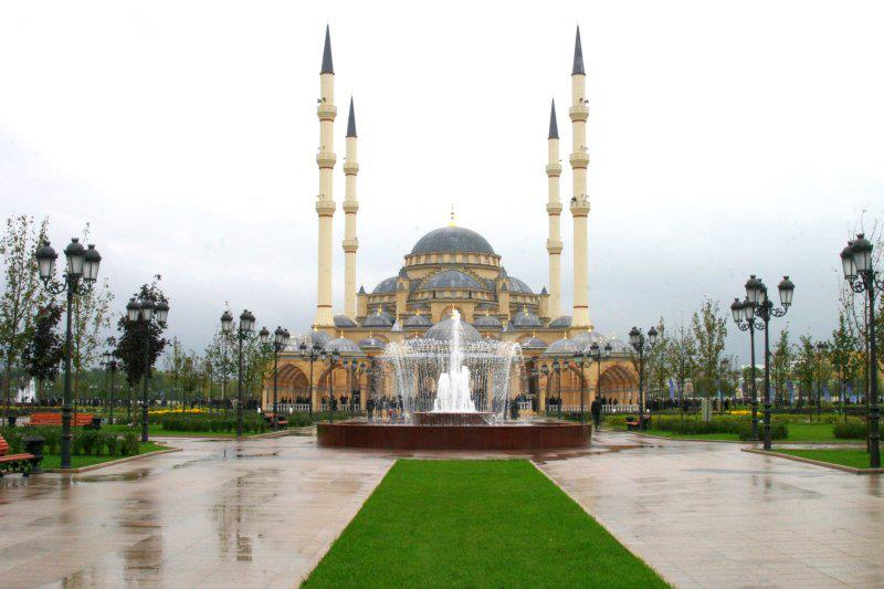 Akhmad Kadyrov Beautiful Mosque