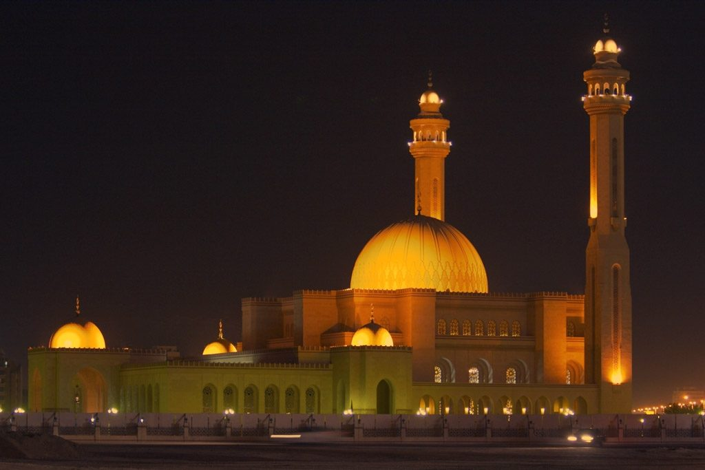 Al-Fateh-Mosque-Manama-Bahrain-night