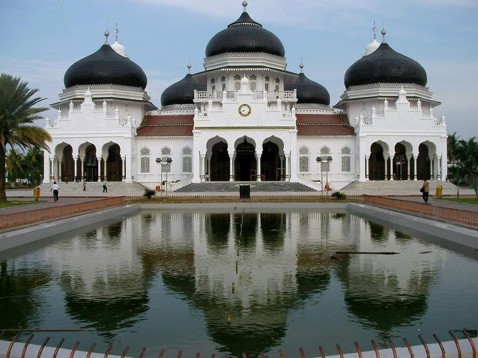 Banda Aceh Main Mosque - Indonesia