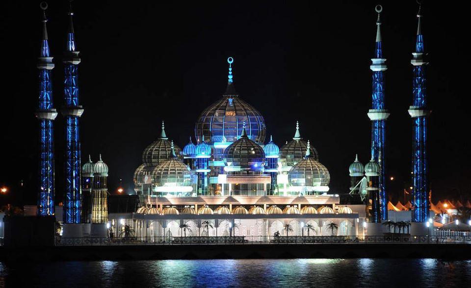 Crystal Mosque Kuala Terengganu Malaysia