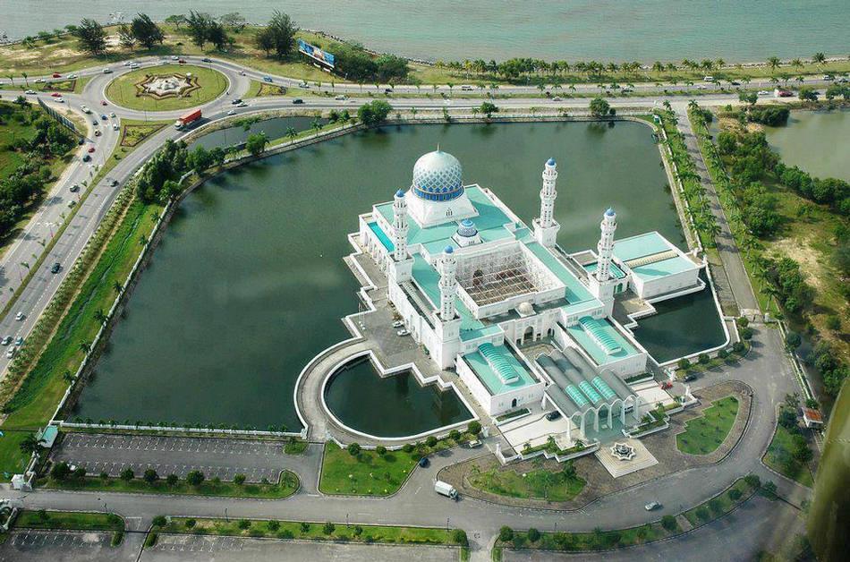 Kota Kinabalu City Mosque, Malaysia
