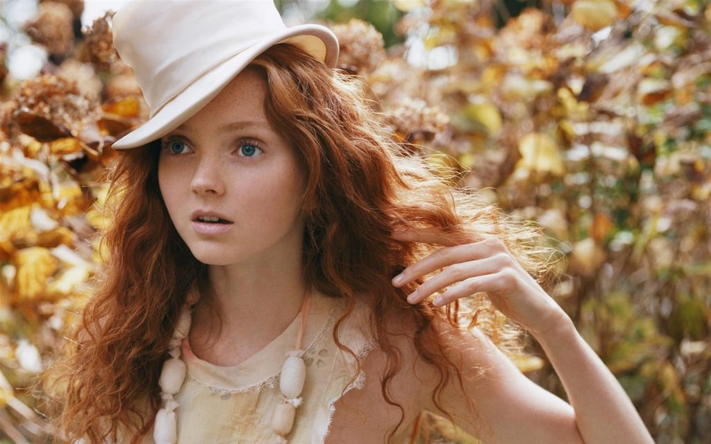 Lily Cole porcelain doll