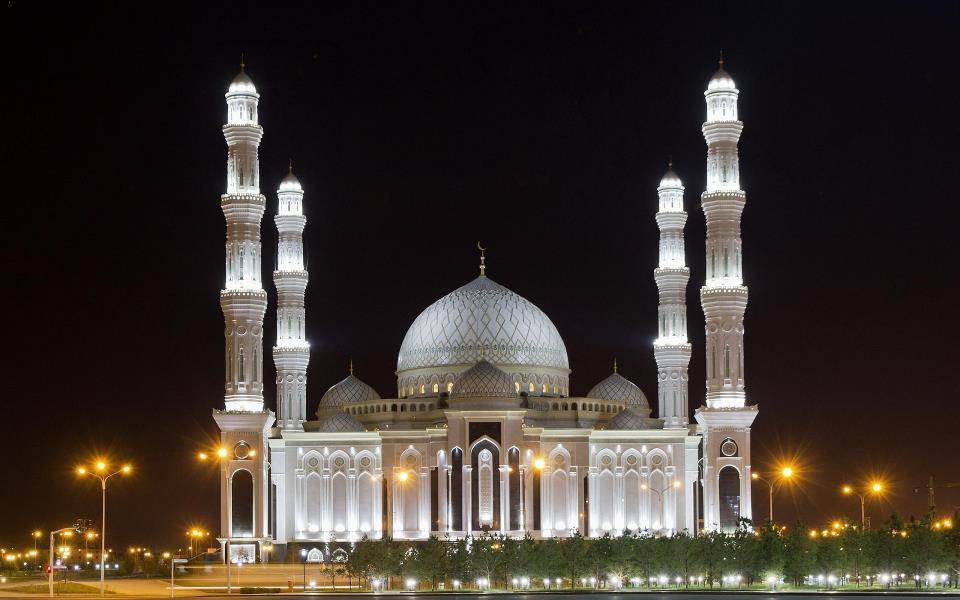 Nur-Astana Mosque - Astana, Kazakhstan