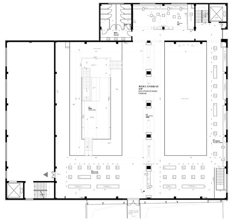 museum of glass floor plan level 1