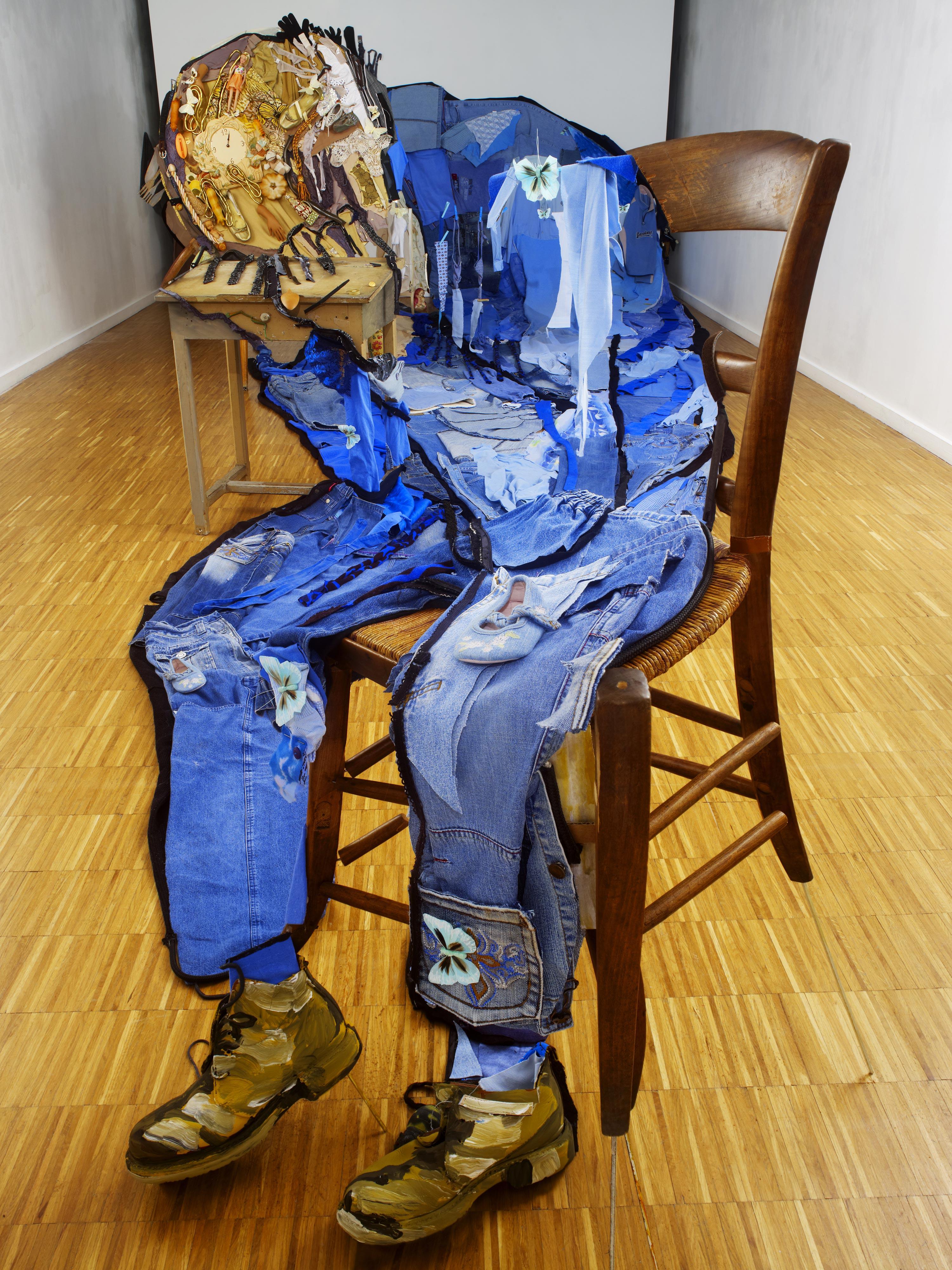 Anamorphic Portrait Le vieil Homme