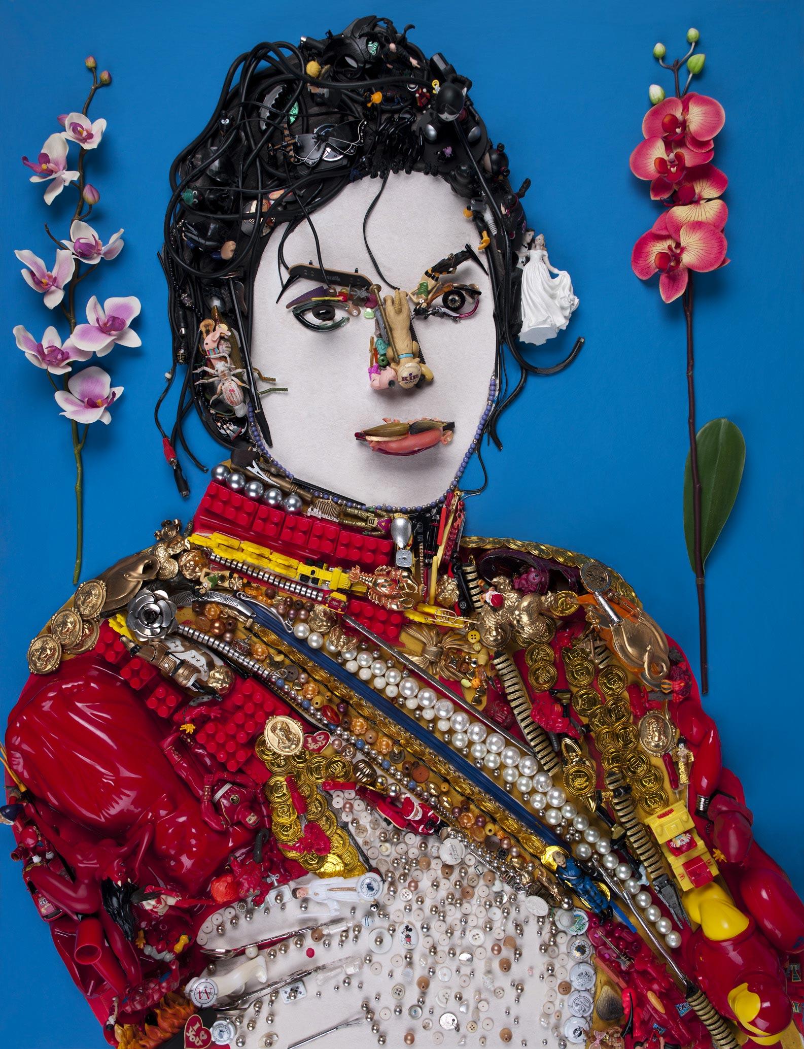 Anamorphic Portrait Michael -Jackson