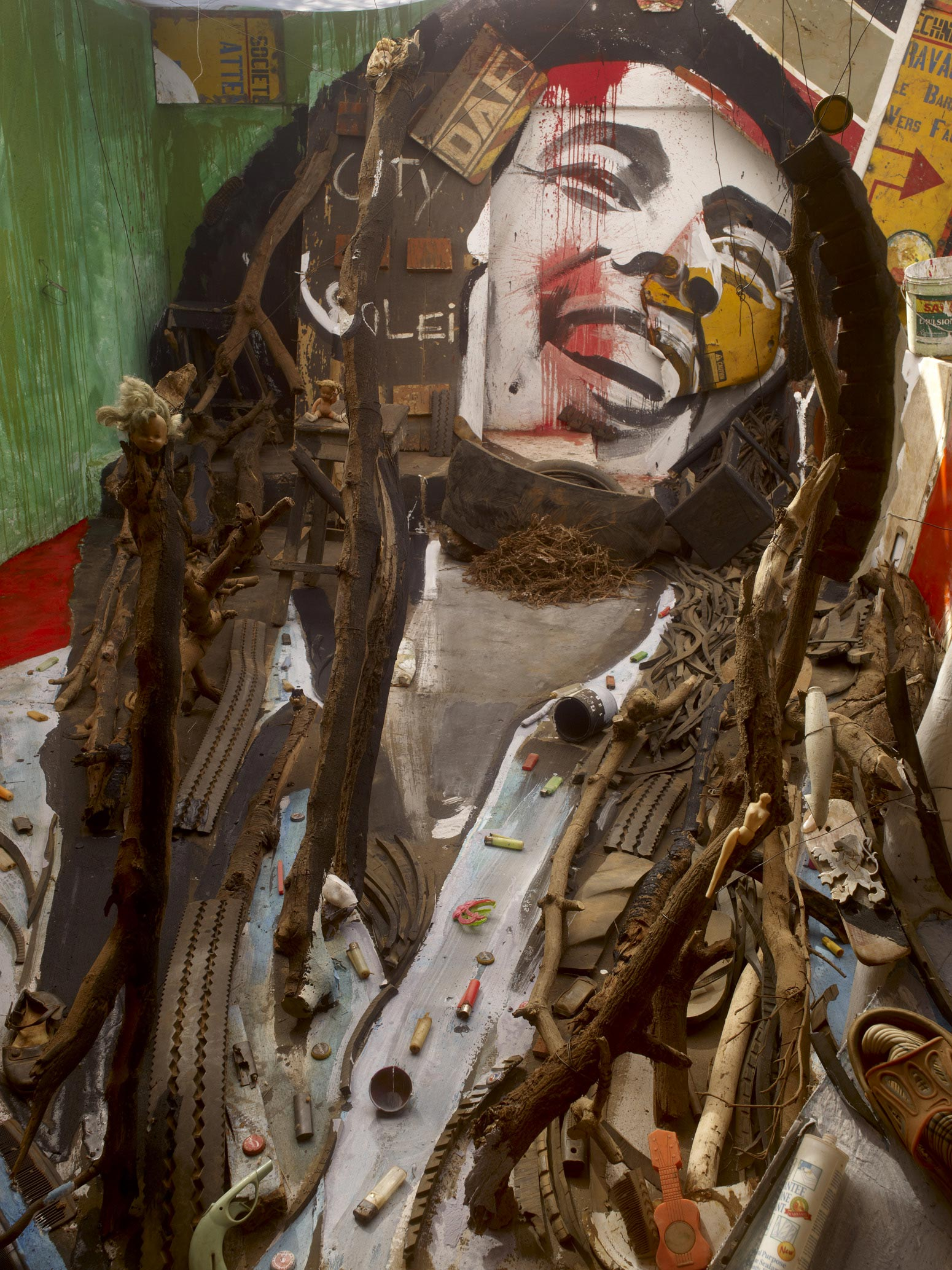 Anamorphic Portrait bob marley
