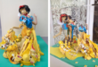 Anamorphic Portrait snow white
