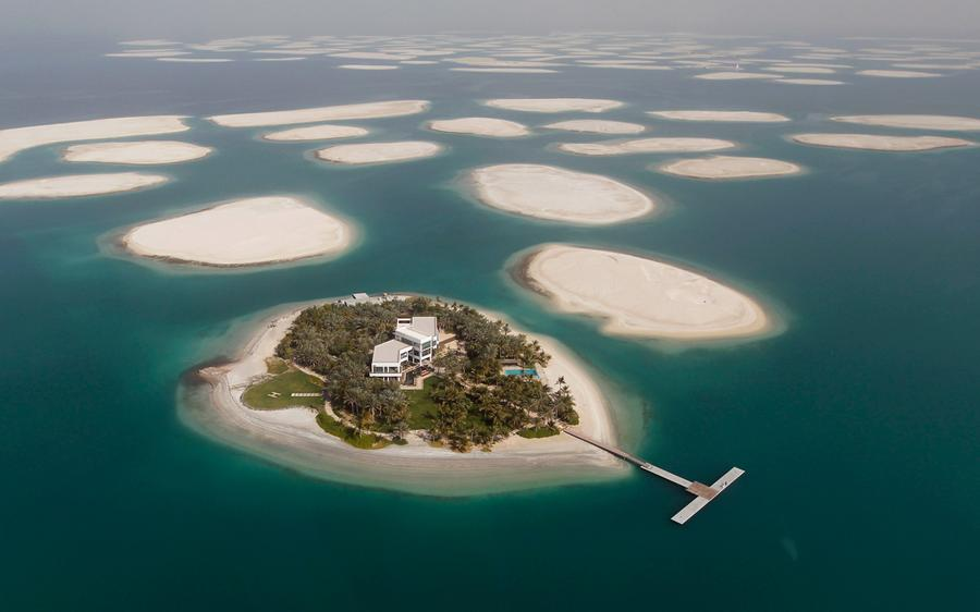 UAE man-made islands