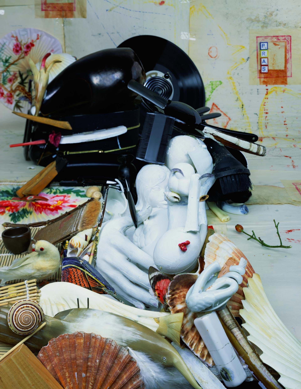anamorphic portraits Geisha