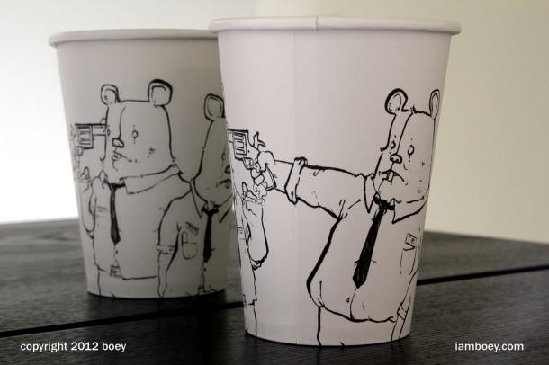 art coffee cup