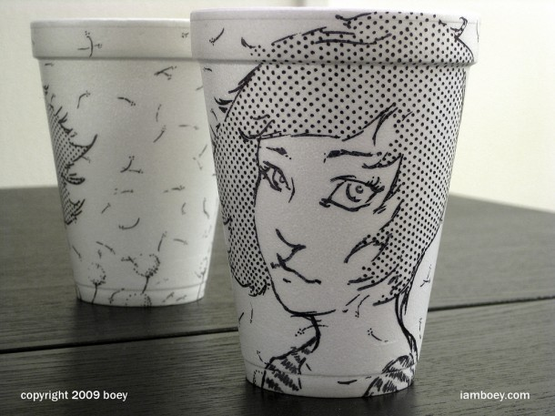 best coffee cup art