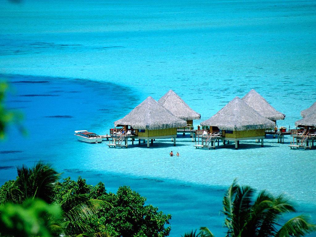 bora bora island tahiti french polynesia romantic