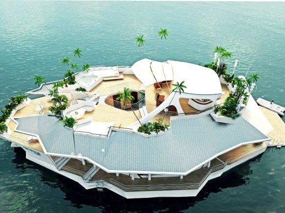 floating orsos island