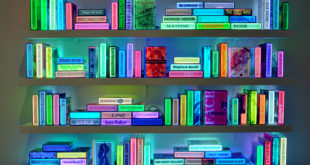 luminous LED books