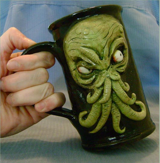 Cthulhu coffee mugs