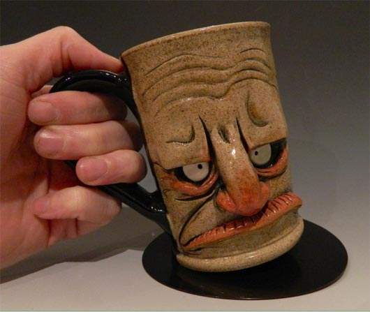 Grumpy Morning coffee mugs