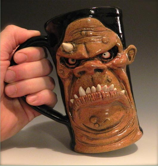 Ogre coffee mugs