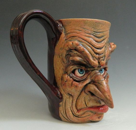 Ugly coffee mugs
