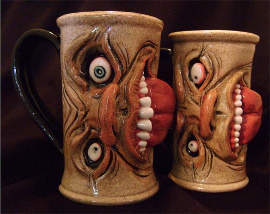 Unusual coffee mugs