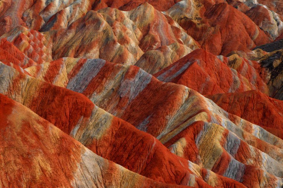 China Rainbow Mountains