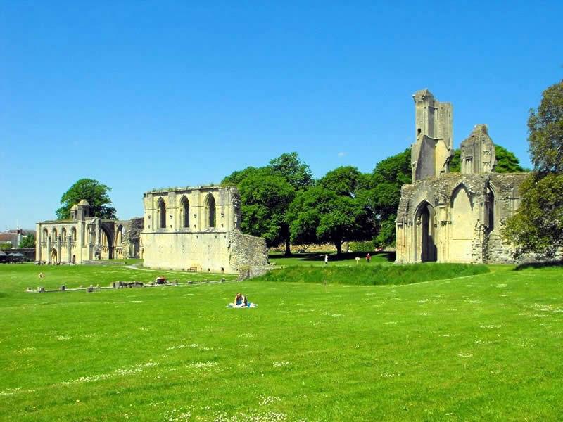 Glastonbury Abbey chruch