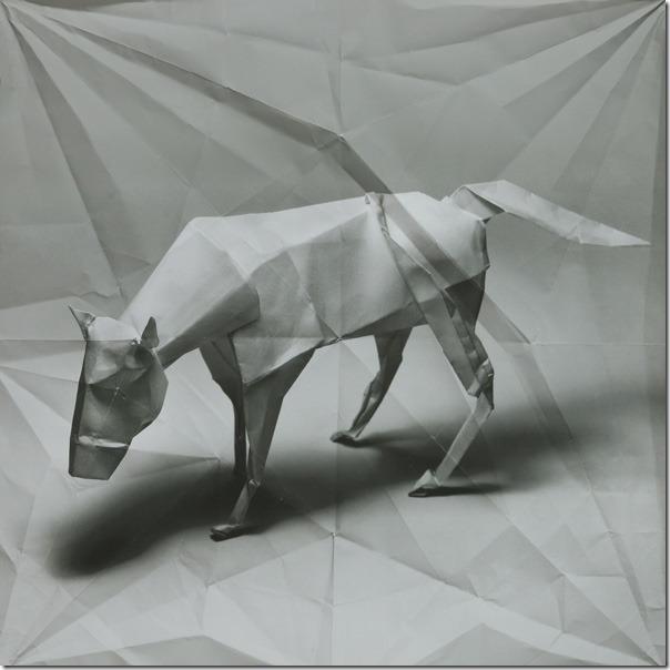 Marc Fichou origami cow
