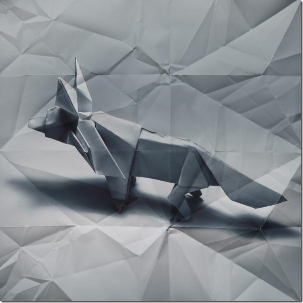 Marc Fichou origami fox