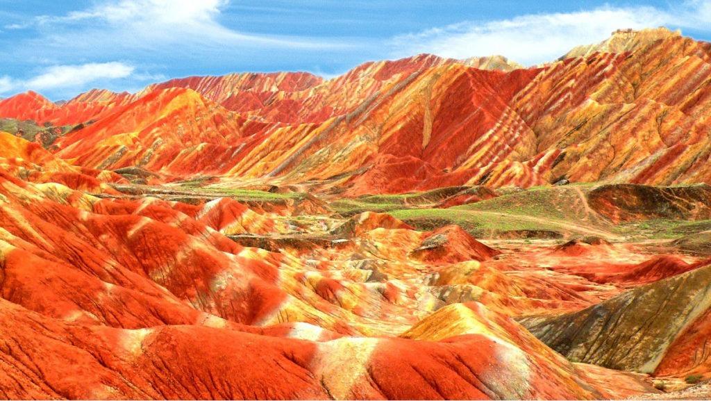 Rainbow Danxia Landform