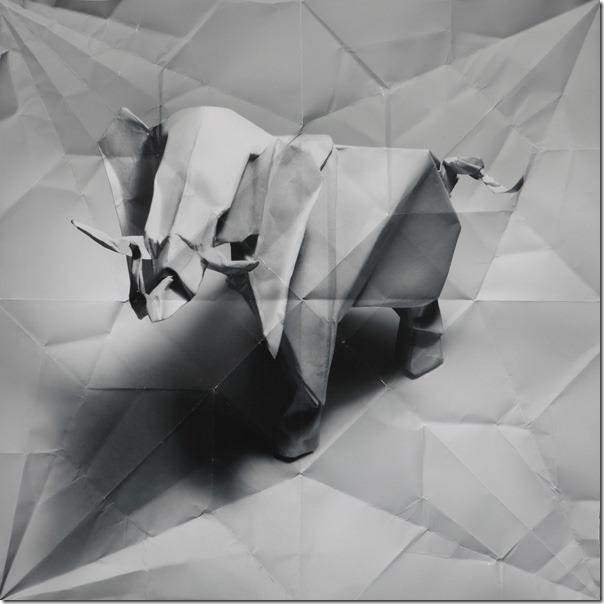 origami elephant Marc Fichou
