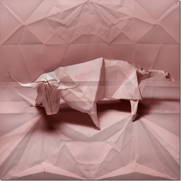 origami bull Marc Fichou