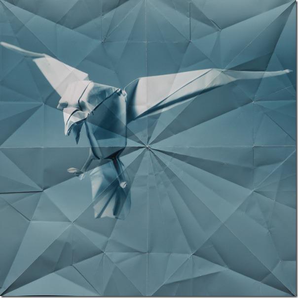 origami eagle Marc Fichou