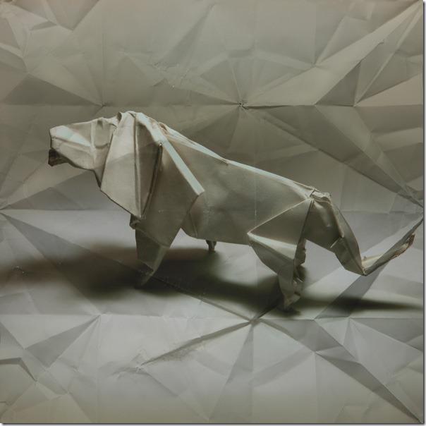 origami lion Marc Fichou