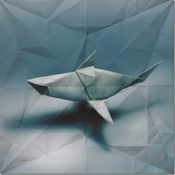origami shark Marc Fichou