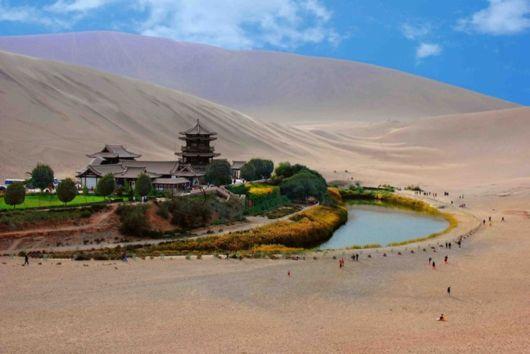 Crescent Lake china wallpaper hd