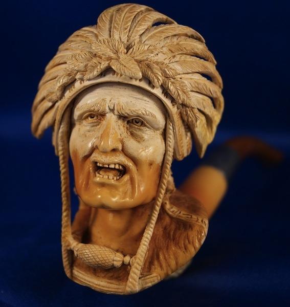 chief meerschaum pipe