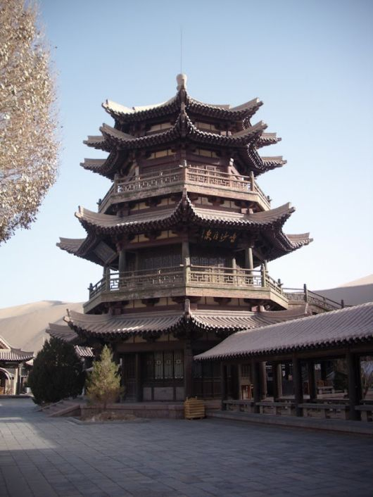 pagoda han architecture china