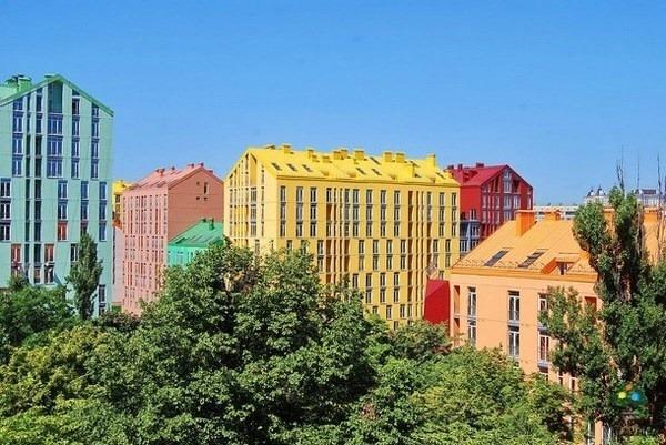 Kiev Residential Complex Bright Architecture