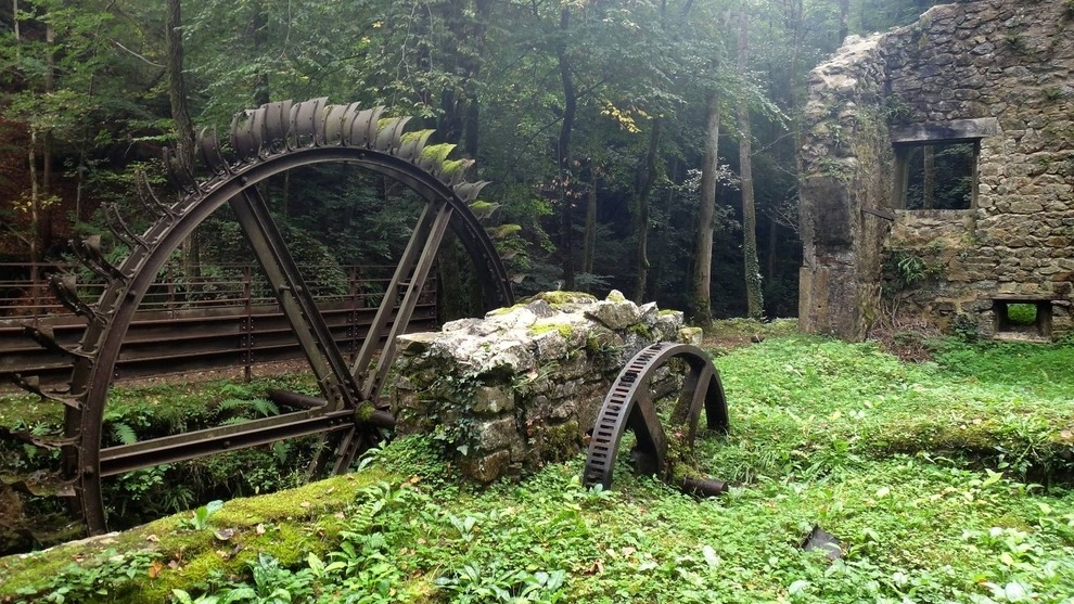 Abandoned Blade Mill France