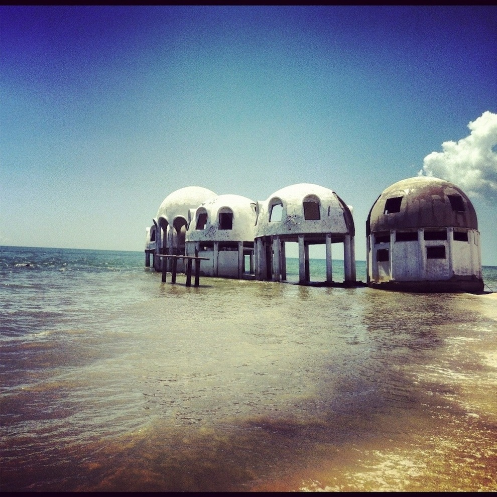 Abandoned dome houses Southwest Florida