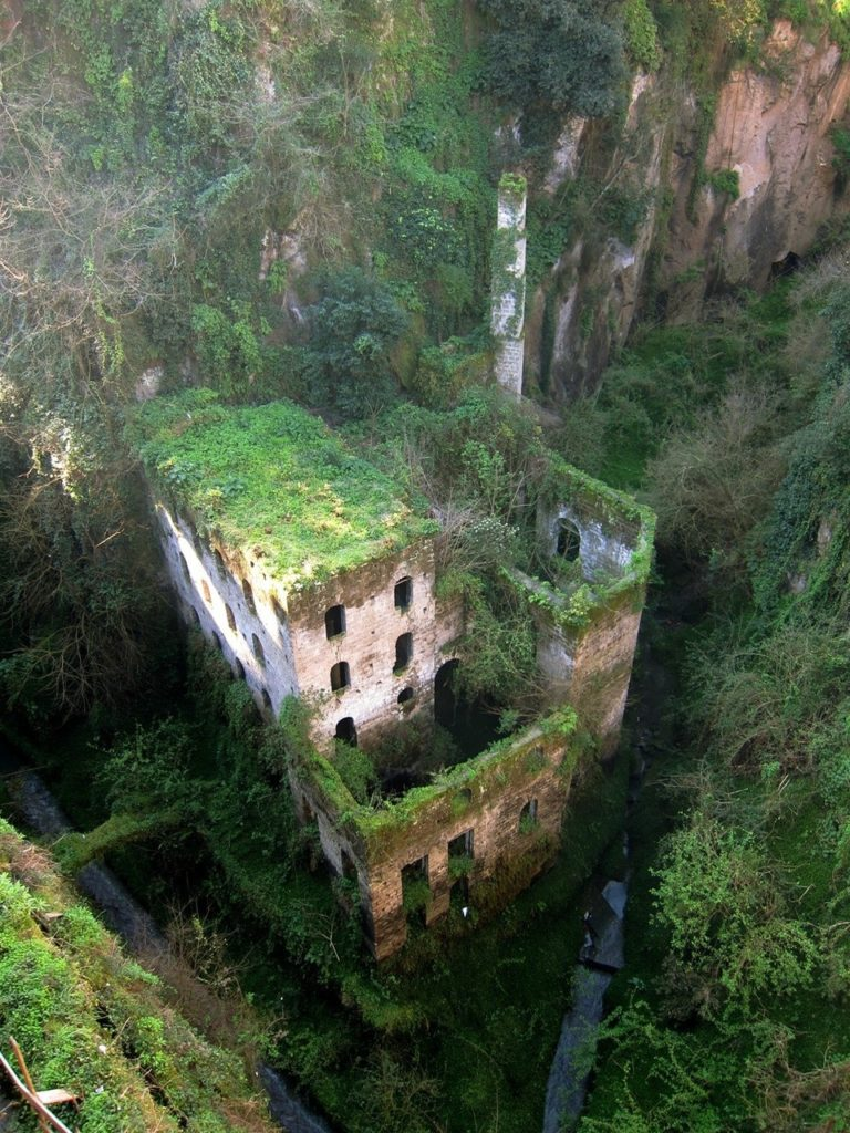 Abandoned mill Sorrento, Italy