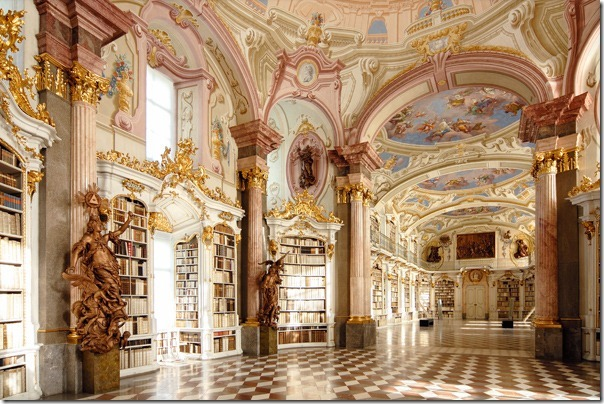 Abbey Library Admont Austria