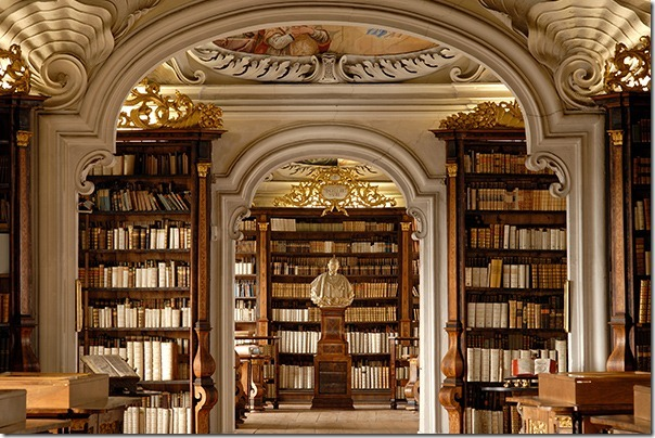 Abbey Library Kremsmünster Austria