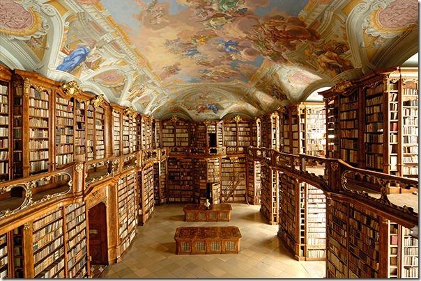 Abbey Library St. Florian Austria
